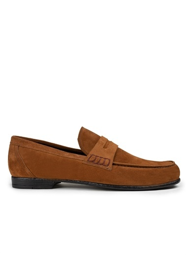 Deery Hakiki Deri Ayakkabı Bakır